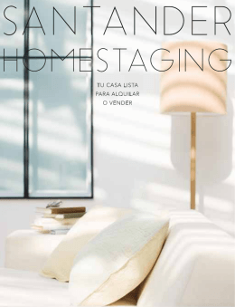 FOLLETO MAIL - Santander Home Staging