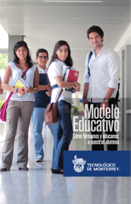 Folleto Modelo Educativo Tec 2012