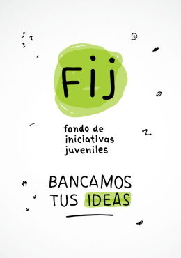 Folleto FIJ 6ta Convocatoria