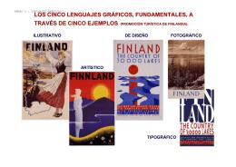 los cinco lenguajes gráficos, fundamentales, a través de