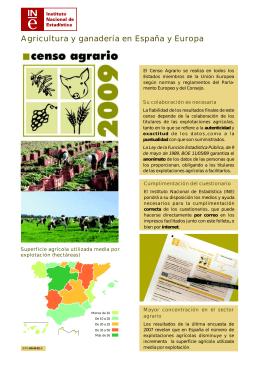 Agricultura y ganadería en España y Europa