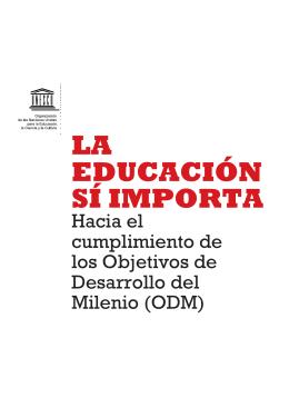 La Educación sí importa: hacia el cumplimiento - unesdoc