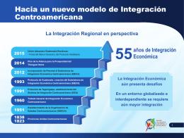 Hacia un nuevo modelo de Integración Centroamericana