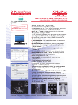 Folleto - X Med Print X Medical Picture