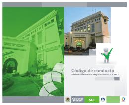 folleto Código de conducta