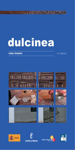 Folleto de la Casa-Museo Dulcinea del Toboso