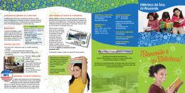 un folleto atractivo en español