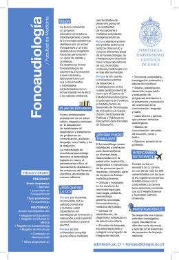 imprimir folleto - Admisión y Registros Académicos