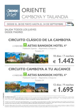 folleto - Eden Viaggi España