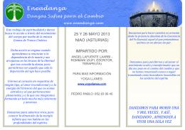 folleto para selaya de la muerte danza y conciencia