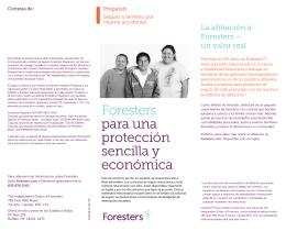 Foresters para una protección sencilla y económica
