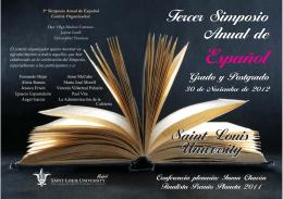 Folleto simposio anual del español 2012.indd