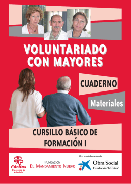 Folleto mayores - Cáritas Diocesana de Valladolid