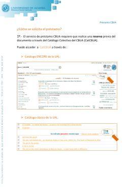 Folleto Informativo CBUA_Acceder