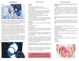 folleto informativo mamografia (segunda parte)