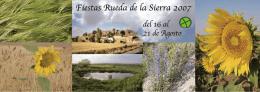 FOLLETO RUEDA 2007 - Rueda de la Sierra