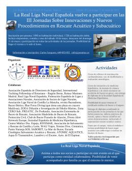 folleto - Real Liga Naval Española