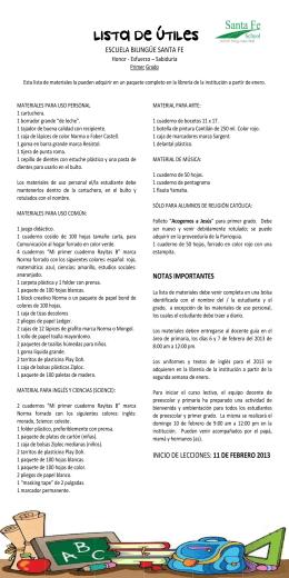 Listas2013SF Primaria