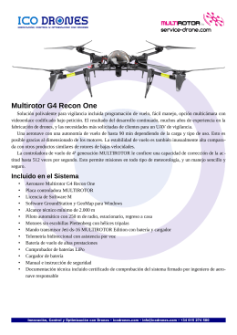folleto informativo del Recon One