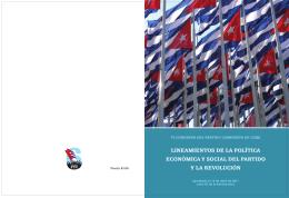 Lineamientos de la Política Económica y Social de la Revolución