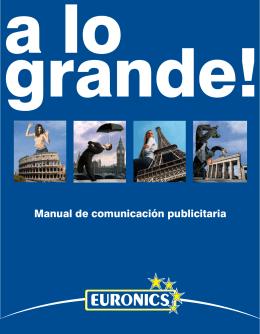 Manual de comunicación publicitaria