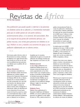 Revistas de África