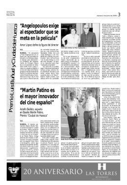 Prem io Luis B uñuel y C iudad de H uesca