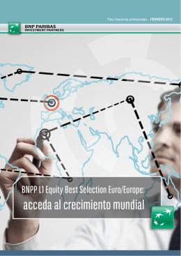 Para inversores profesionales - BNP Paribas Investment Partners