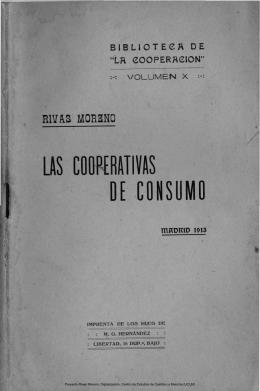 Las cooperativas de consumo