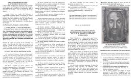 ORACIONES DE REPARACIÓN AL DIVINO ROSTRO DE JESUS