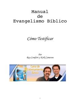 Manual de Evangelismo Bíblico Cómo Testificar