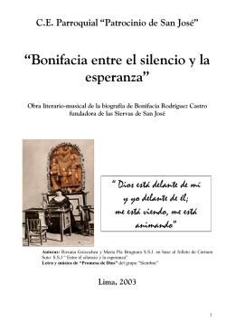 Obra literario- musical. Entre el silencio y la