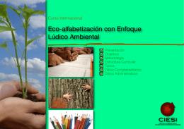 Eco-alfabetización con Enfoque Lúdico Ambiental