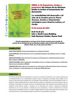 Vea el folleto informativo - Oficina de la UNESCO en MONTEVIDEO