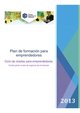 FOLLETO EMPRENDEDORES _v5x - Cámara Argentina de Comercio