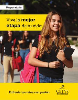 Folleto promocional - Centro de Enseñanza Técnica y Superior