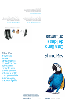 Folleto Shine Rev