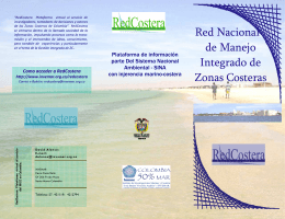 folleto redcostera 2008
