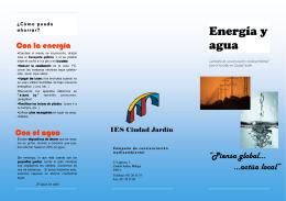 folleto=energia y agua
