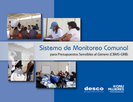 Folleto Sistema de Monitoreo