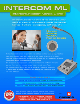 folleto intercom ML