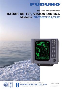 RADAR DE 12``, VISION DIURNA