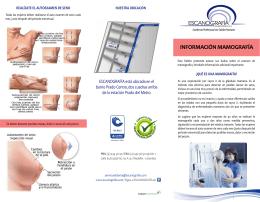folleto informativo mamografia (primera parte)