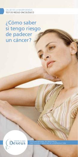 Descargar folleto - Salud de la Mujer Dexeus