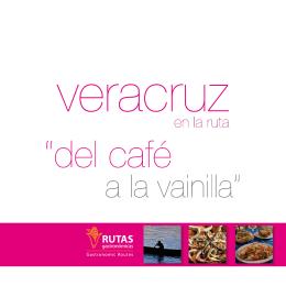 folleto veracruz - Rutas Gastronómicas
