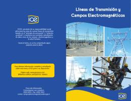 Líneas de Transmisión y Campos Electromagnéticos