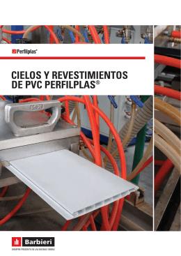 CIELOS Y REVESTIMIENTOS DE PVC PERFILPLAS®
