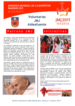 folleto jmj febrero
