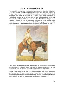 DIA DE LA EDUCACIÓN CATÓLICA folleto 3-1