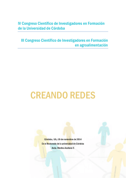 folleto informativo - Universidad de Córdoba